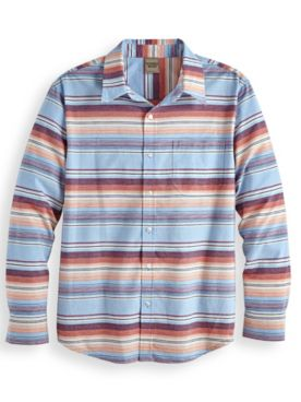 Scandia Woods Washed-Stripe Shirt