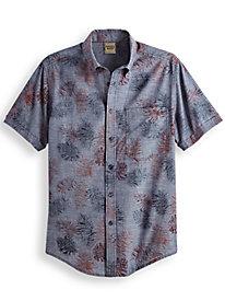 Scandia Woods Reverse Print Shirt by Blair