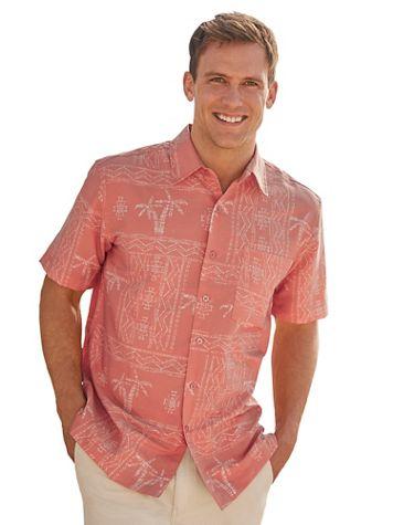 Scandia Woods Batik Print Shirt - Image 1 of 4