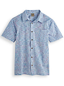 Scandia Woods Space-Dye Grid Shirt