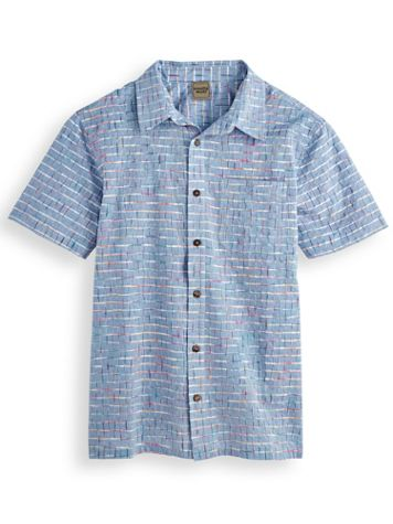 Scandia Woods Space-Dye Grid Shirt - Image 1 of 3