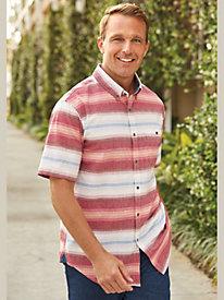 Scandia Woods Desert Stripe Shirt by Blair