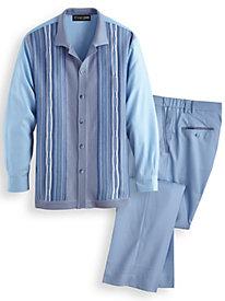 Stacy Adams® Coordinating Shirt and Pants Set
