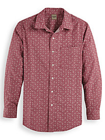 Scandia Woods Print Twill Shirt