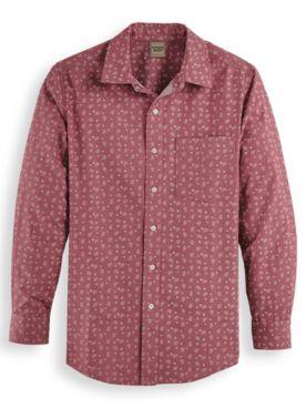 Scandia Woods Print Twill Shirt