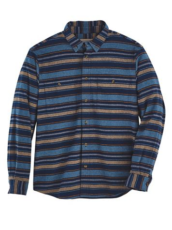 Scandia Woods Striped Chamois Shirt - Image 1 of 2