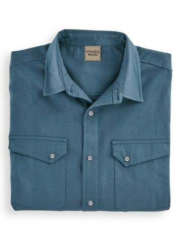 Scandia Woods Snap-Front Twill Shirt - Image 2 of 2
