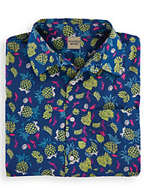 Scandia Woods Pineapple-Print Shirt by Blair