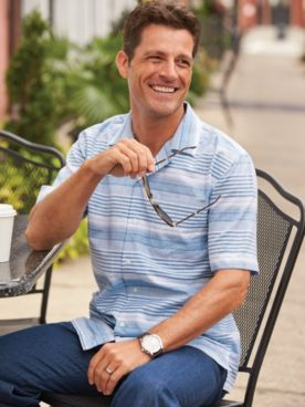 Scandia Woods Variegated-Stripe Shirt