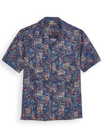 Scandia Woods Batik-Print Shirt - Image 1 of 3