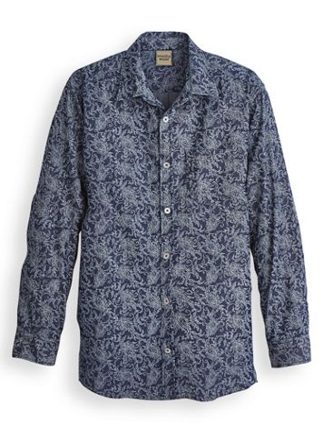Scandia Woods Printed Denim Shirt - Image 0 of 1