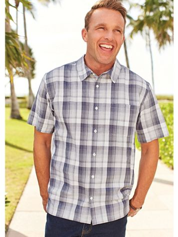 John Blair® Plaid Comfort Shirt - Image 1 of 3