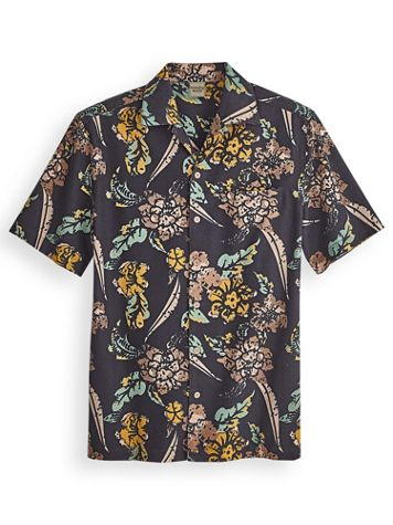 Scandia Woods Linen-Look Multi-Print Shirt - Image 2 of 2