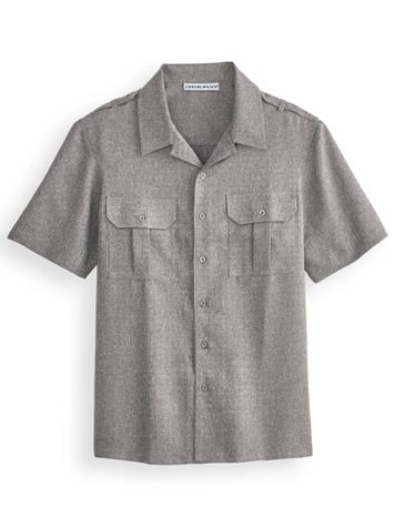 Irvine Park Short-Sleeve Mélange Pilot Shirt - Image 2 of 2