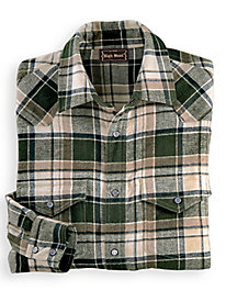 High Noon Snap-Front Flannel Shirt