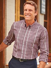 John Blair® Plaid Shirt