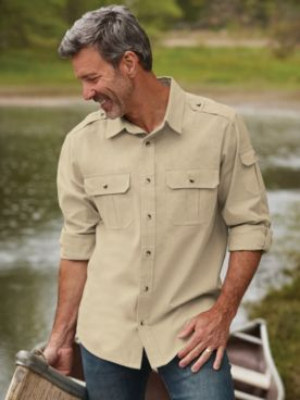 Scandia Woods Safari Shirt