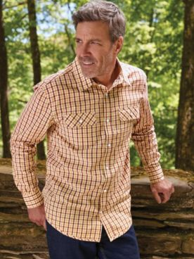 Scandia Woods Snap-Front Check Shirt