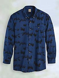 Scandia Woods Print Flannel Shirt