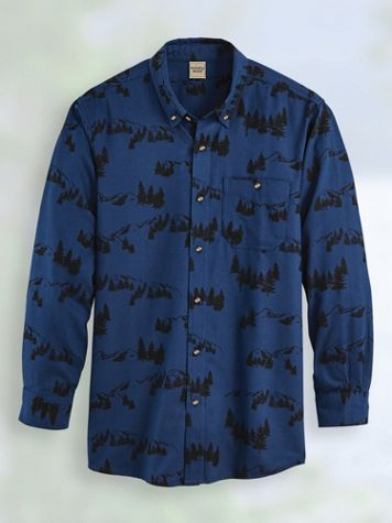 Scandia Woods Print Flannel Shirt - Image 2 of 2