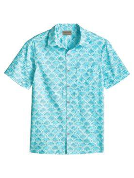 Scandia Woods Short-Sleeve Easy-Care Print Shirt