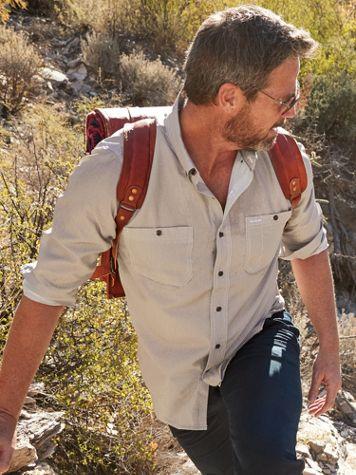 Scandia Woods Long-Sleeve Sun Guard Chambray Shirt - Image 1 of 4