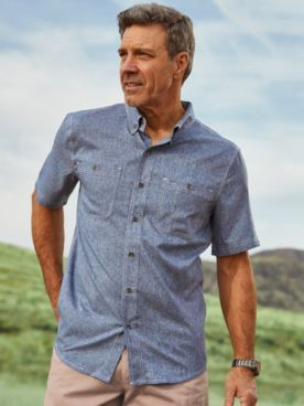 Scandia Woods Short-Sleeve Sun Guard Shirt