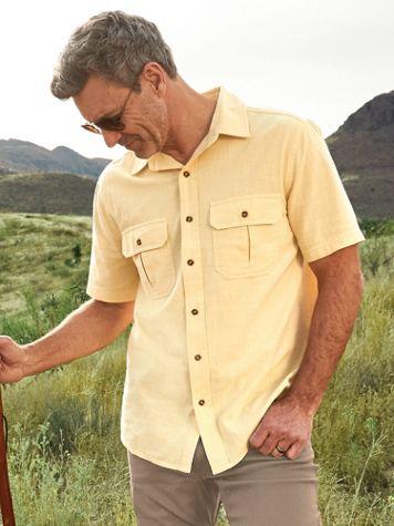 Scandia Woods Allegheny Washed Short-Sleeve Shirt - Image 1 of 5