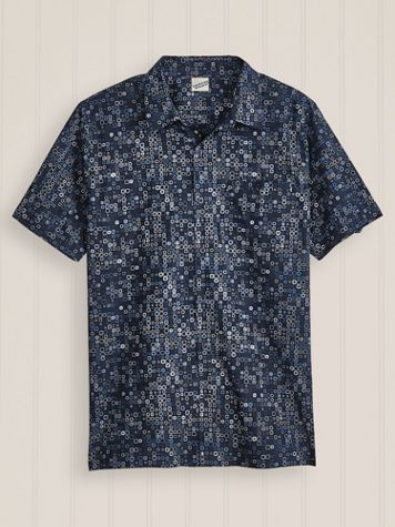 Irvine Park Short Sleeve Geometric Pattern Shirt - Image 2 of 2