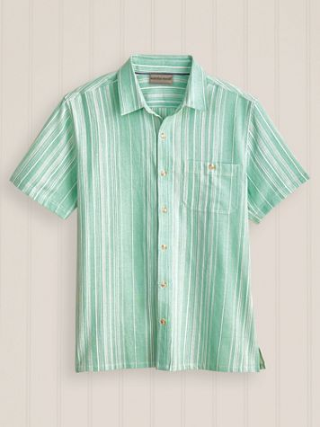 Scandia Woods Short-Sleeve Vertical Texture Shirt - Image 1 of 4