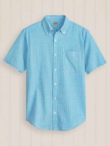 Scandia Woods Short-Sleeve Textured Shirt - Image 1 of 3