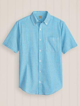 Scandia Woods Short-Sleeve Textured Shirt