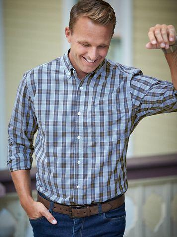 Scandia Woods Long-Sleeve Easy-Care Shirt - Image 1 of 4