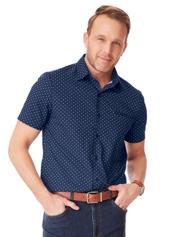 John Blair Pin-Dot Sport Shirt - Image 1 of 5
