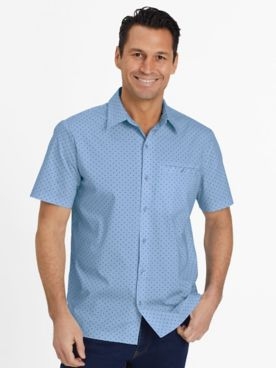 John Blair Pin-Dot Sport Shirt