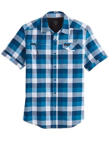 Wrangler All-Terrain Gear Asymmetric Zip-Pocket Shirt - Image 1 of 1
