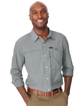 Wrangler All-Terrain Gear Hike-To-Fish Long-Sleeve Shirt