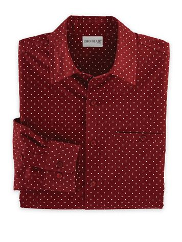 John Blair Stretch Dot Shirt - Image 1 of 3
