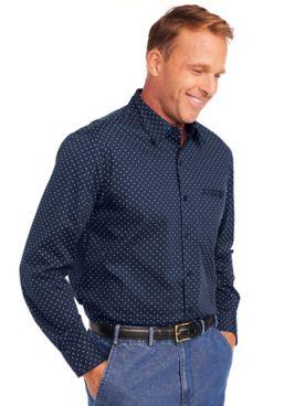 John Blair Stretch Dot Shirt