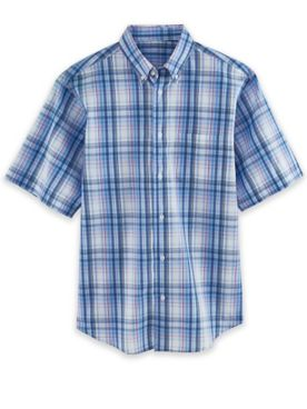 Short-Sleeve Woven Sport Shirt