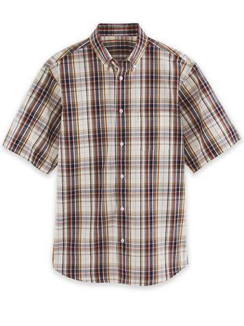 Short-Sleeve Woven Sport Shirt - Image 2 of 2