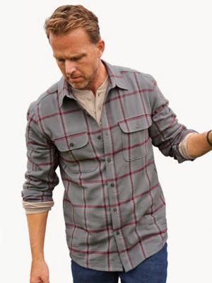 John Blair Cotton Flannel Shirt