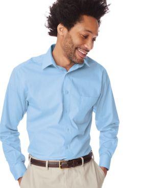 Marquis Long-Sleeve Broadcloth Dress Shirt