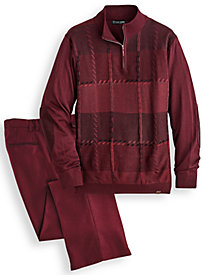 Stacy Adams® Coordinating Sweater and Pant Set