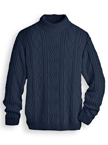 John Blair Fisherman Turtleneck Sweater - Image 1 of 1