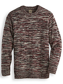Scandia Woods Space-Dyed Crewneck Sweater by Blair