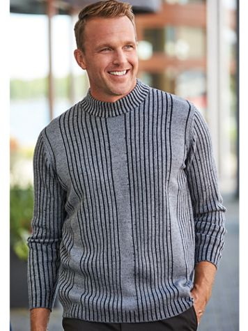 Scandia Woods Drop-Needle Mock-Neck Sweater - Image 1 of 3