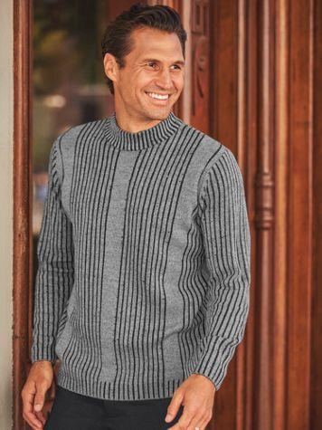Scandia Woods Drop-Needle Mock-Neck Sweater - Image 2 of 2