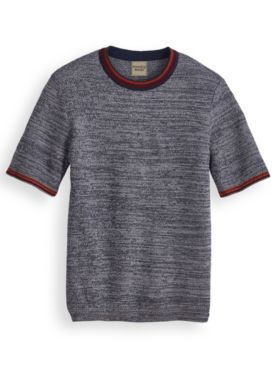 Scandia Woods Tipped Crewneck Sweater