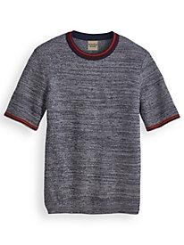 Scandia Woods Tipped Crewneck Sweater